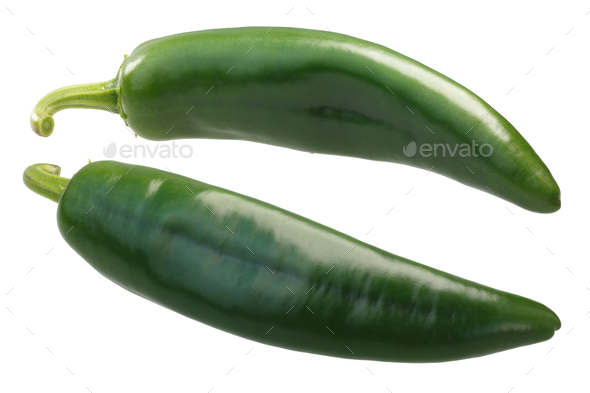 Numex Sandia Hot Chile Peppers, paths - Stock Photo - Images