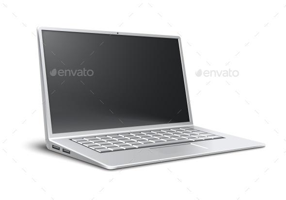 Laptop Ultra Thin Modern Portable Desktop - Computers Technology