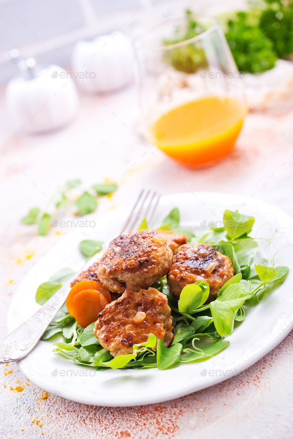 cutlets - Stock Photo - Images