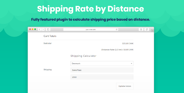 Shipping Rate by Distance for WooCommerce - CodeCanyon Item for Sale
