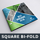 Square Bi-Fold Brochure Template - GraphicRiver Item for Sale