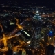 Aerial Drone Footage of Atlanta at Night - VideoHive Item for Sale