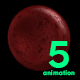 5 Red Blood Cells - VideoHive Item for Sale