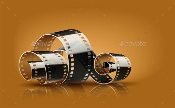 Movie Cinema Film Reel - Vectors