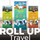 Travel Roll Up Banner - GraphicRiver Item for Sale
