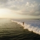 Surfing: Surfer Man Riding on the Blue Waves - VideoHive Item for Sale