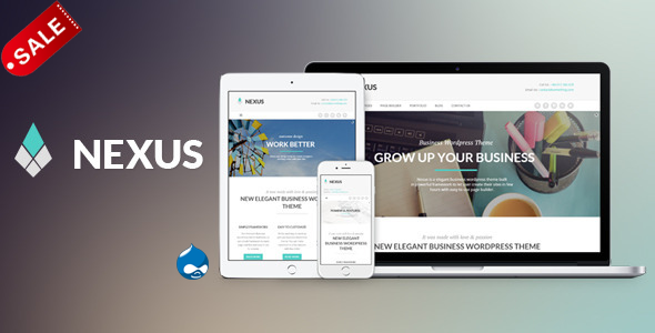 Image of Nexus - Elegant Business Drupal Theme
