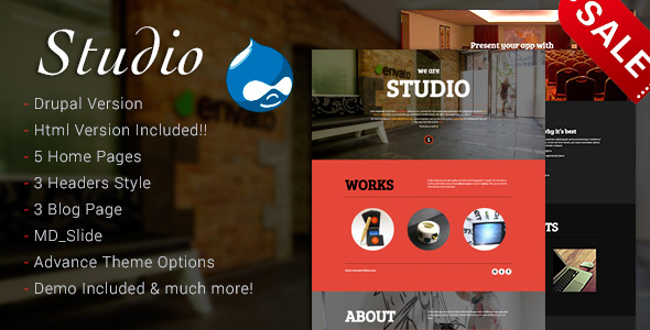 Studio - Multipurpose Technology Drupal Theme - Drupal CMS Themes