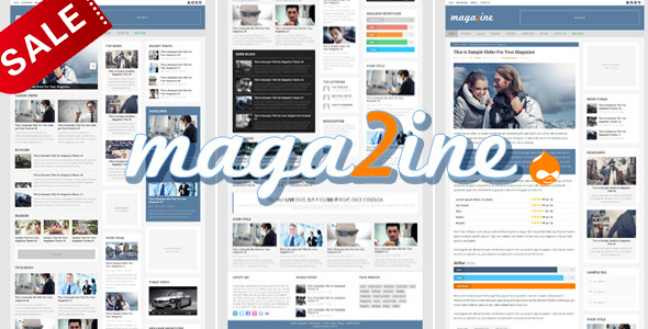 Magazine 2 - Modern Drupal Magazine Theme - Blog / Magazine Drupal