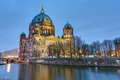 The Cathedral of Berlin with the river Spree  - PhotoDune Item for Sale