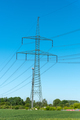Power supply lines and electric pylons  - PhotoDune Item for Sale