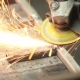 Grinding Steel, Sparks - VideoHive Item for Sale