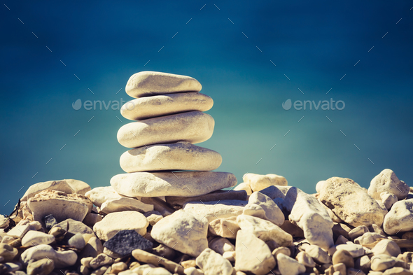 Balance and spa concept - Stock Photo - Images