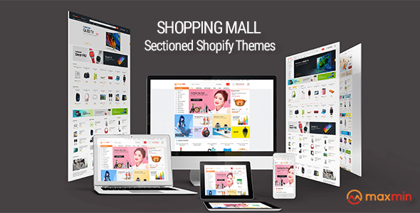 Image of MAXMIN - Dropshipping AliExpress Clone Shopify Theme - Super Fast, Sections Frontpage Builder