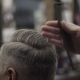Hairdresser Cuts a Man - VideoHive Item for Sale