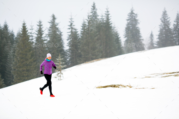 Woman fitness inspiration and motivation, runner - Stock Photo - Images