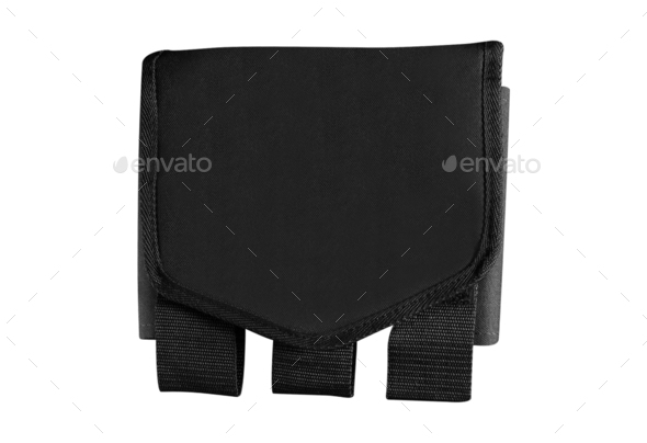 waist bag isolated on white - Stock Photo - Images