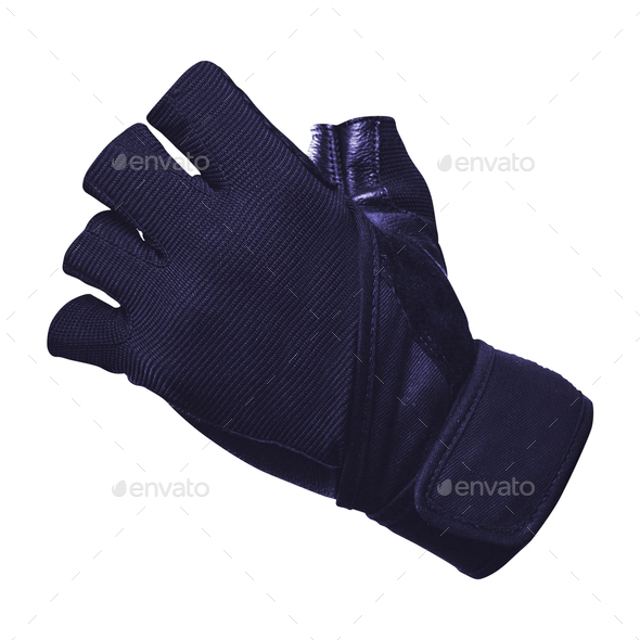 Bike gloves isolated - Stock Photo - Images