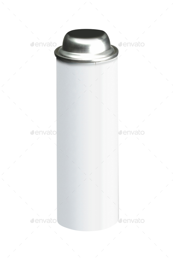 Spray bottle on white background - Stock Photo - Images