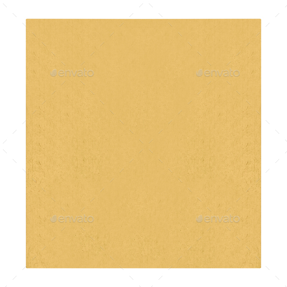 Yellow paper texture - Stock Photo - Images