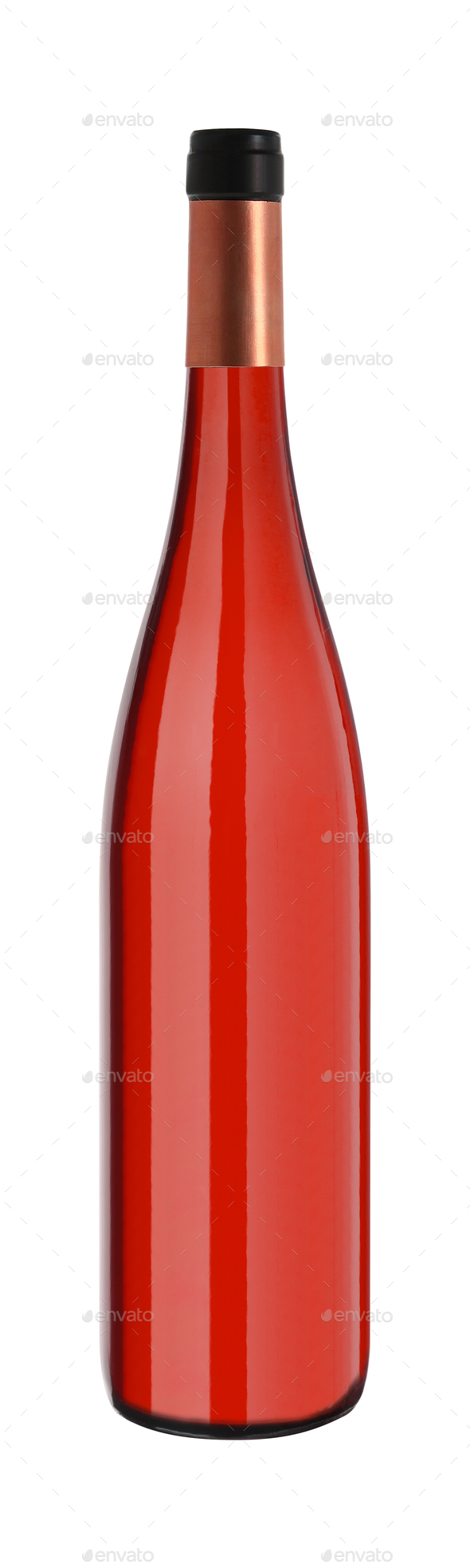 Wine bottle isolated - Stock Photo - Images
