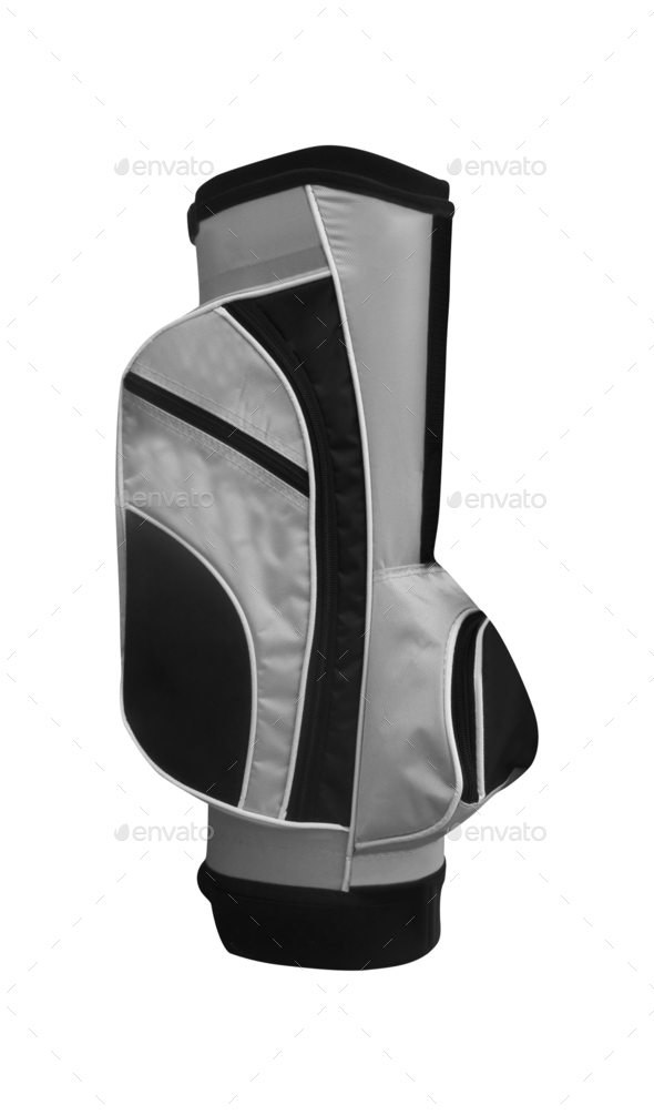 Golf Bag Isolated - Stock Photo - Images