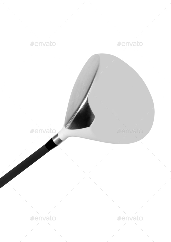 Golf club isolated on white - Stock Photo - Images