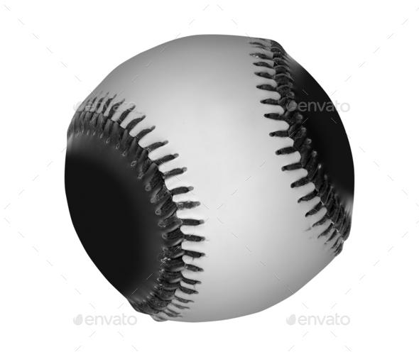 baseball ball isolated - Stock Photo - Images