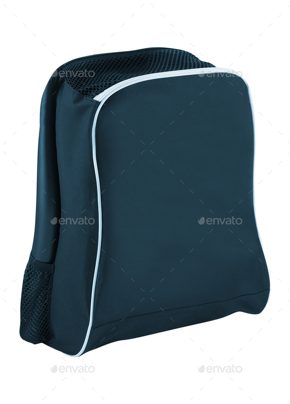 Backpack Isolated on White - Stock Photo - Images