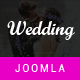 Wedding & Wedding Planner Joomla Template