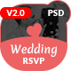 Wedding Invitation - Couple Event, Wedding & Celebration PSD Template - ThemeForest Item for Sale
