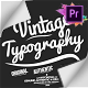 Vintage Typography Pack 26 Animated Badges | Mogrt - VideoHive Item for Sale