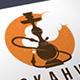 Hookah Logo Template