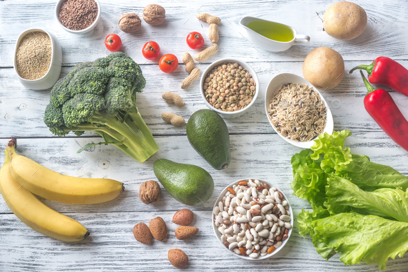 Food for Thrive diet - Stock Photo - Images