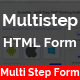 Multistep HTML Form - Multi Step Multipurpose HTML Form