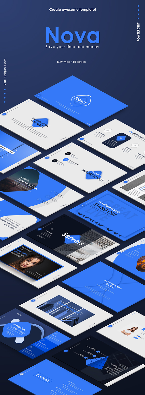 Nova Powerpoint Presentation Template - Business PowerPoint Templates