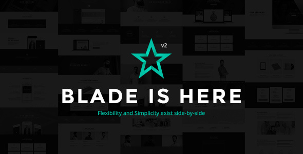 Blade - Responsive Multi-Functional Theme - Corporate WordPress