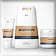 Cream & Sahmpoo Cosmetic Mockups