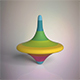 Spinning Top - 3DOcean Item for Sale