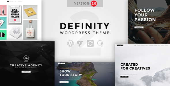 Definity - Creative Multi-Purpose WordPress Theme - Creative WordPress