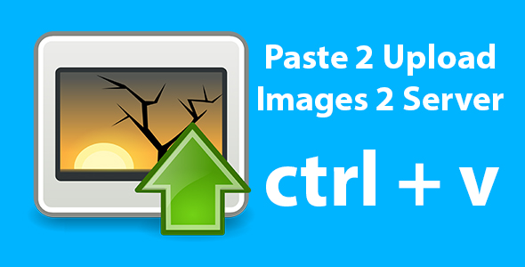 Paste 2 Upload Images On Server