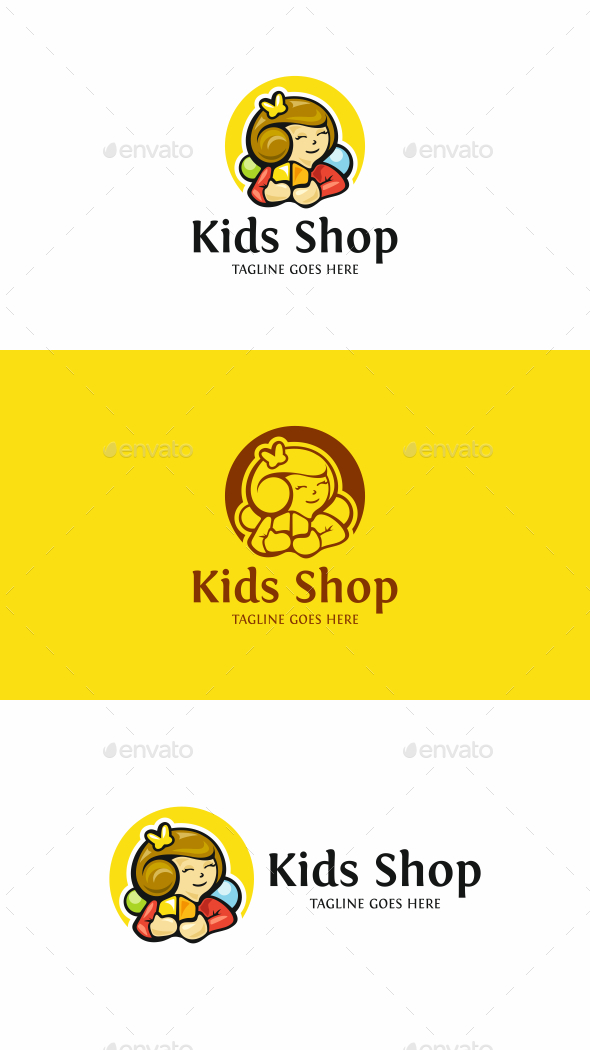 Kids Toy Logo - Humans Logo Templates