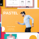 Pastel Modern Minimal Powerpoint - GraphicRiver Item for Sale