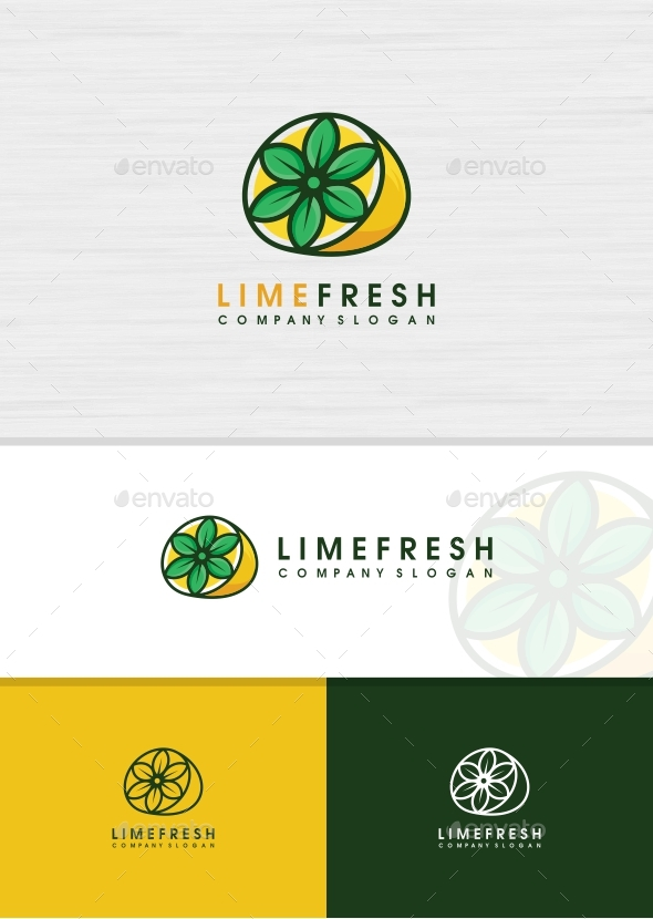 Lemon Fresh Logo - Food Logo Templates