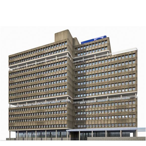 Amsterdam University Building - 3DOcean Item for Sale