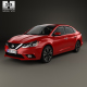 Nissan Sentra SL with HQ interior 2016