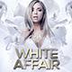 White Affair Flyer Template