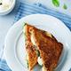 Fresh green mozzarella grilled rye sandwich - PhotoDune Item for Sale