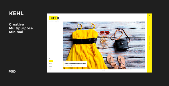 Kehl – Creative Multi-Purpose PSD template