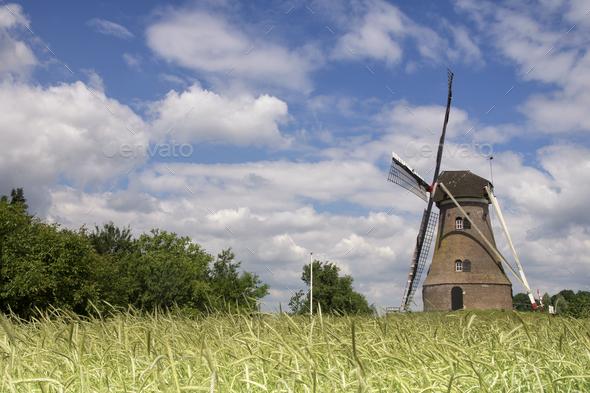 Windmill the Piepermolen - Stock Photo - Images